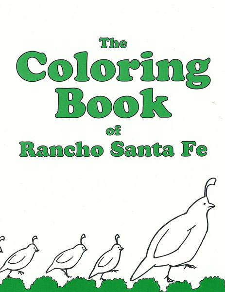 The Coloring Book of Rancho Santa Fe
