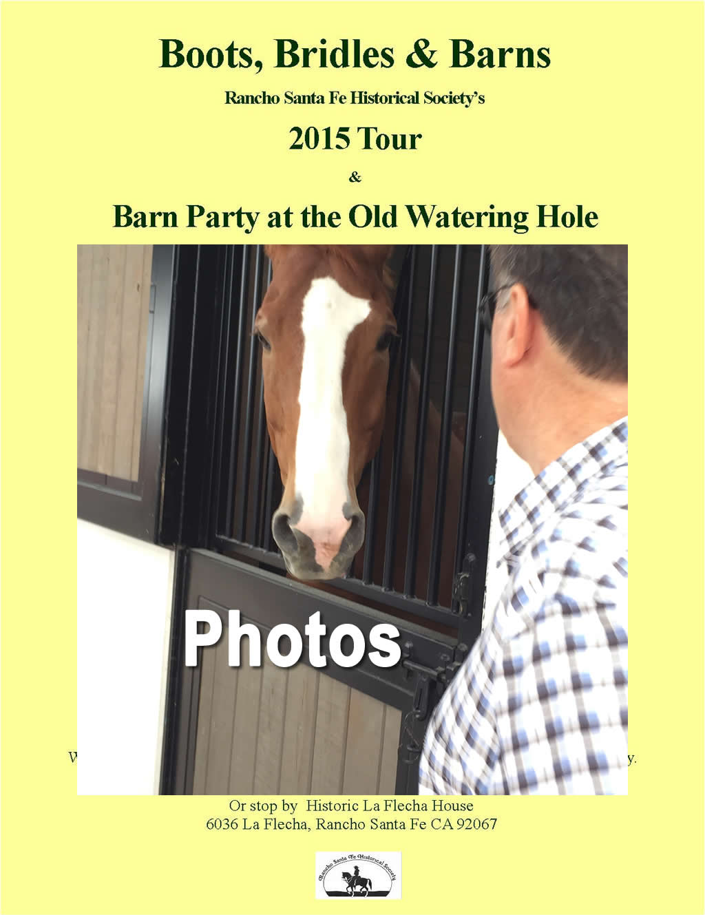 Barn Tour 2016 Photos